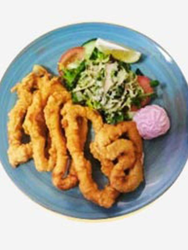 Gebakken calamares