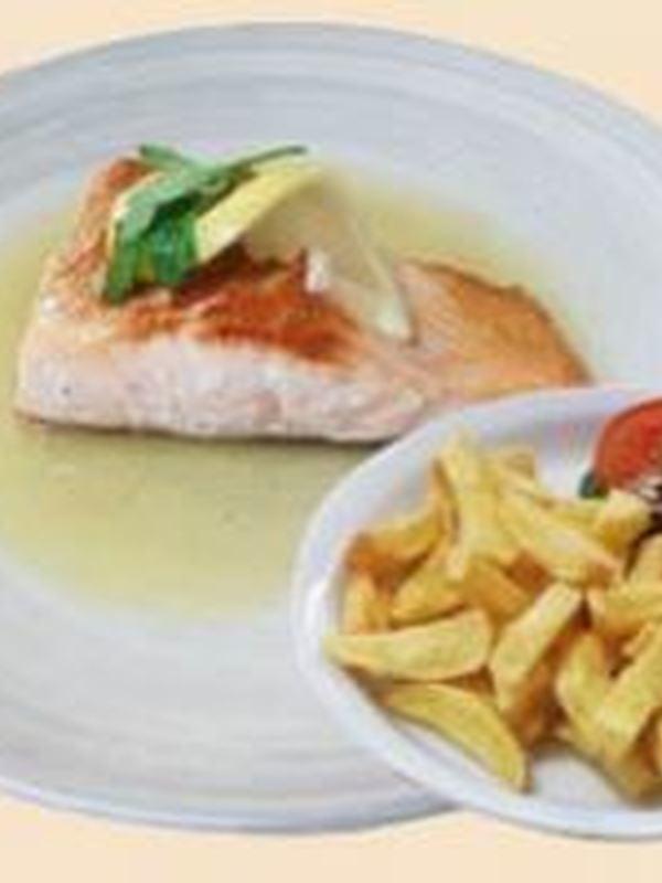 Saumon grillé (prix du jour)-nl